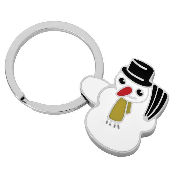 Брелок Снеговик