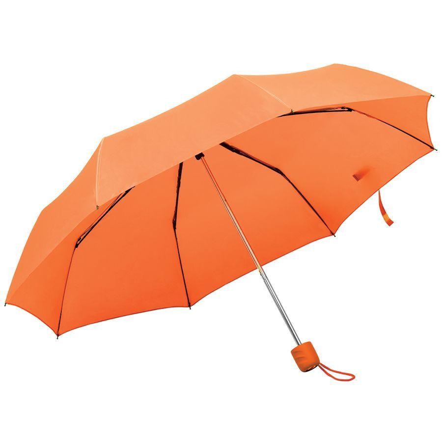 Складной зонт Foldi оранжевый