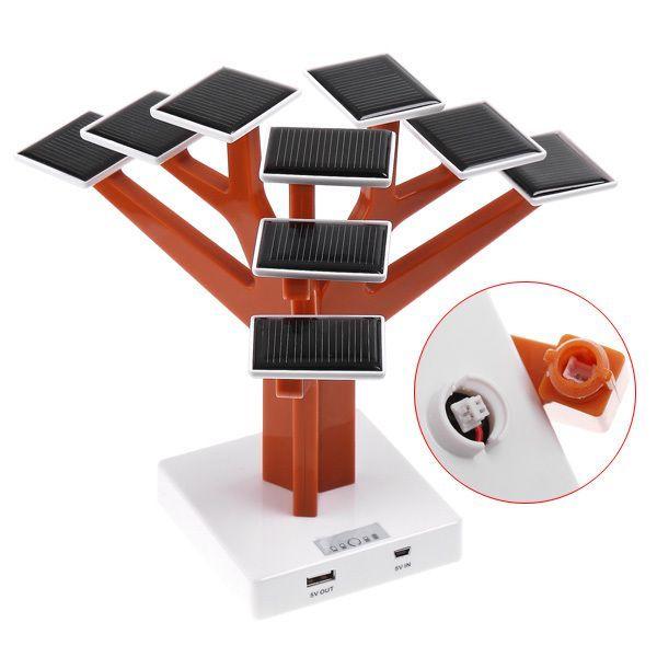 Зарядное устройство для мобильных телефонов в форме дерева (Solar Charger Tree)