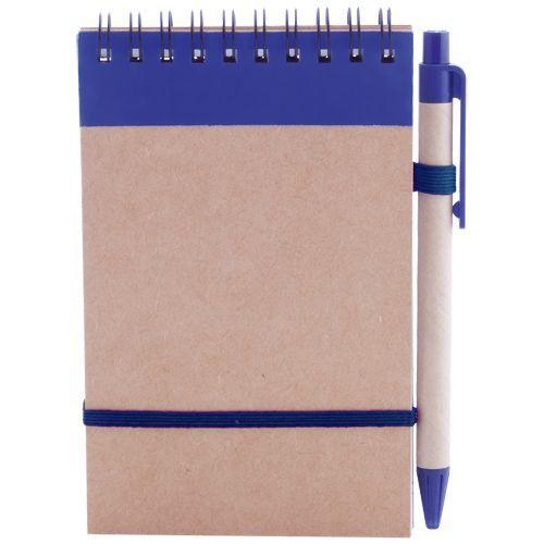 Блокнот Eco Note А6 с синим