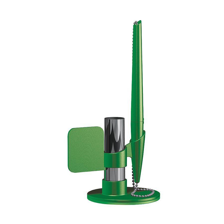 Зеленая настольная ручка Flag