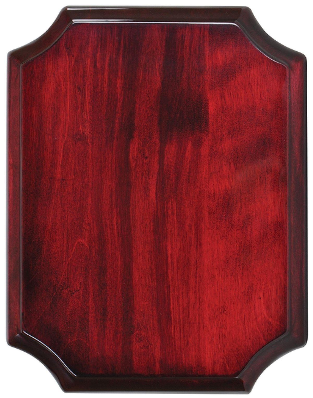 Меньшая плакетка из красного дерева