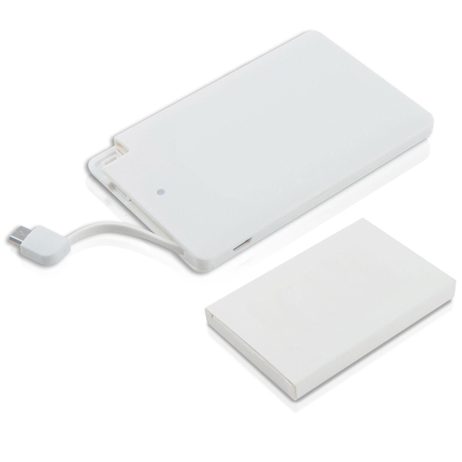 Внешний аккумулятор Card 2500 mAh